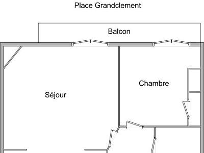 APPARTEMENT T3 A LOUER - VILLEURBANNE - 85,42 m2 - 780 € charges comprises par mois