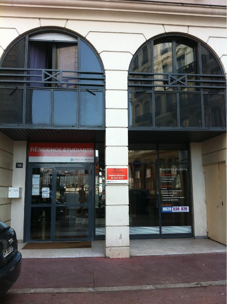 APPARTEMENT T1 A LOUER - LYON 3EME ARRONDISSEMENT - 18,54 m2 - 442 € charges comprises par mois