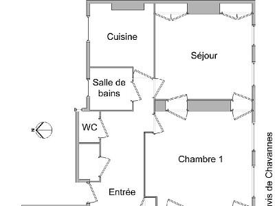 APPARTEMENT T6 - LYON 6EME ARRONDISSEMENT - 148,44 m2 - LOUÉ