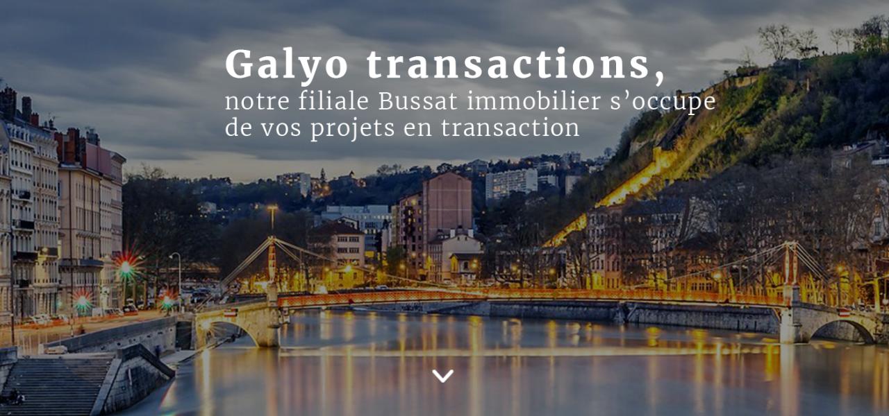 Transaction avec Bussat Immobilier